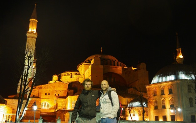 Istanbul by night...