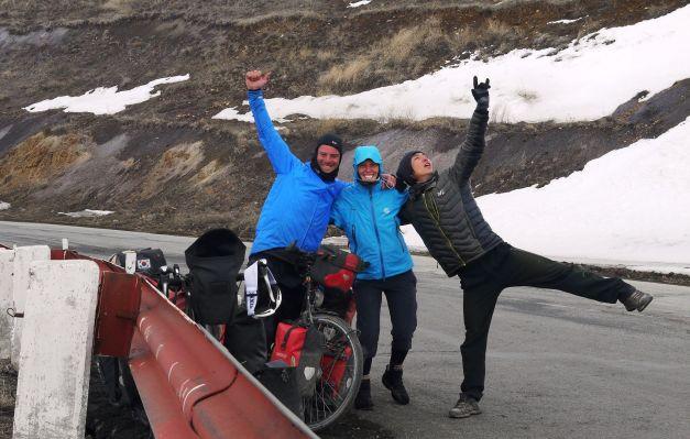 Nearing the summit of Vorotan Mountain Pass