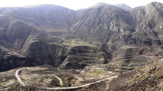 Countless switchbacks to climb out of Tatev Gorge