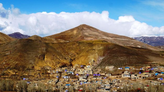 A mountain village in northern Iran
