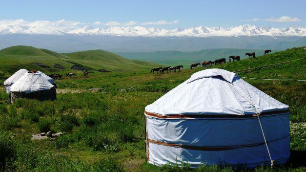 Osh-Bishkek Road, within the Suusamyr Valley
