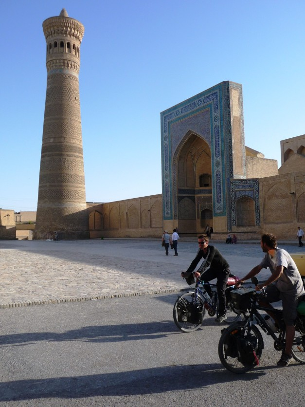 Cycling into Bukhara
