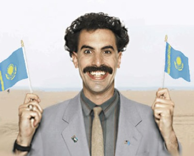 Borat, the not-so-popular Kazakh celebrity