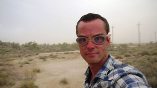 Sand storms and goggles