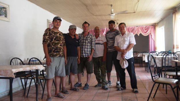 My first taste of Uighur hospitality...