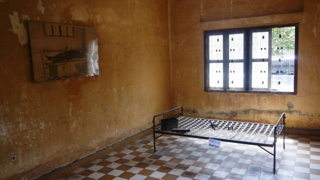 One of the rooms used for torture