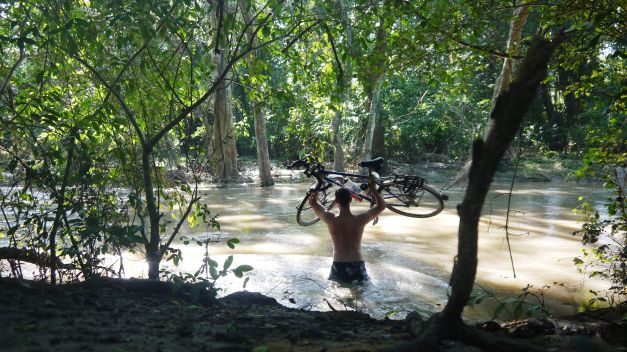 Carrying Wilson over the monsoonal river
