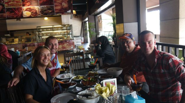 Lunch in Ipoh with Rob, Jen and Ahmad