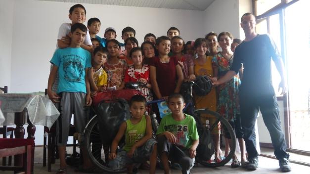 An English language school in Uzbekistan