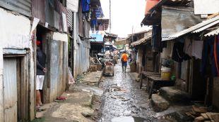 An alleyway in southern Jakarta