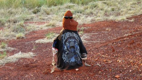 Mr Termite shows how to be cool in teh outback