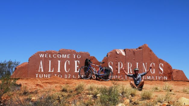 Alice Springs - my first goal of the outback!