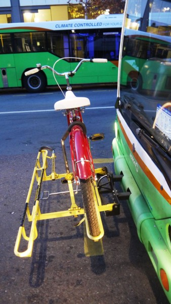 Bike racks of Canberra's buses